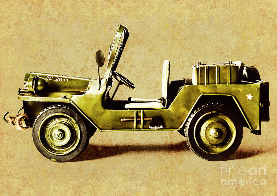 Army Photograph - Army Jeep by Jorgo Photography - Wall Art Gallery