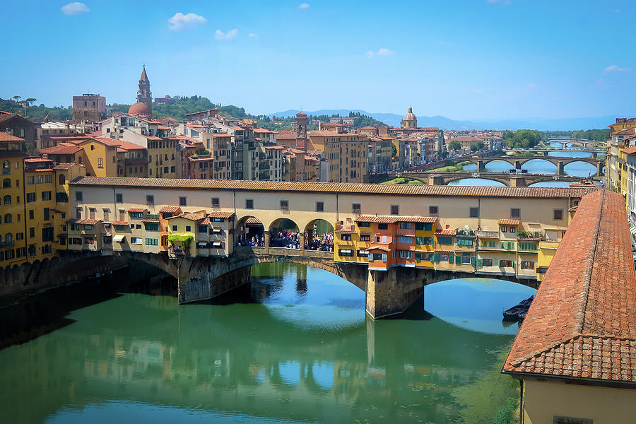 Arno River Florence by Robert Blandy Jr