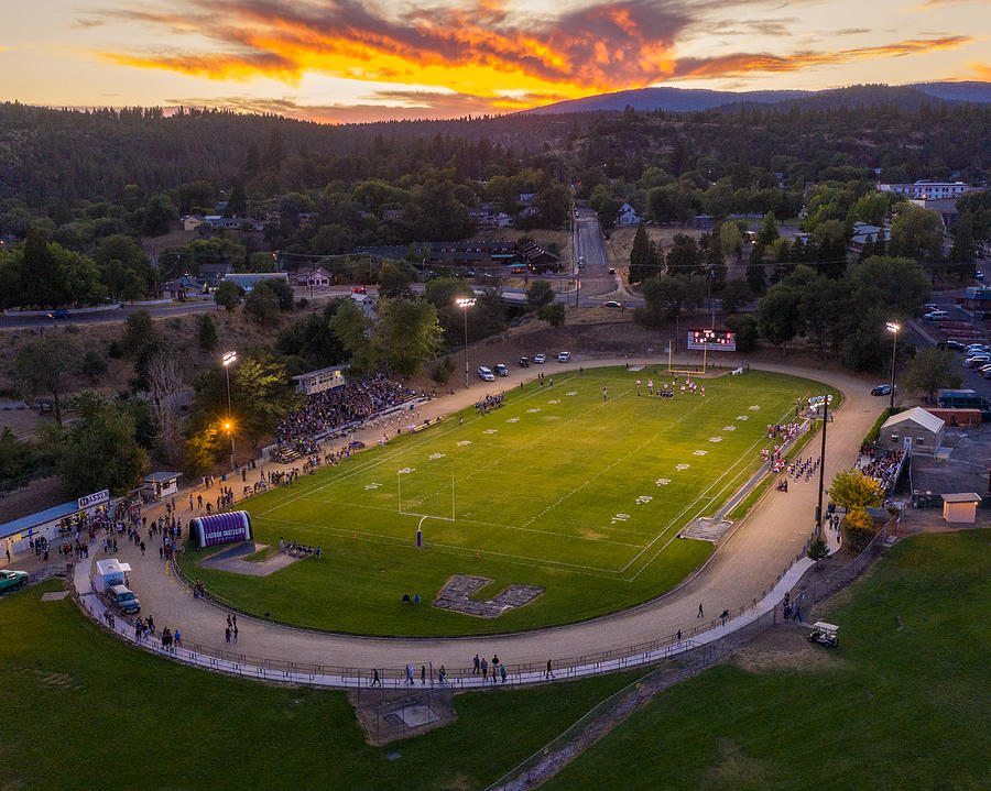 Arnold Field on a Friday Night  by The Couso Collection