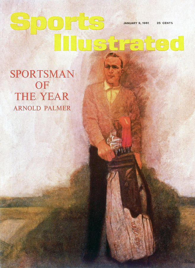 Arnold Palmer, 1960 Sportsman Of The Year Sports Illustrated Cover Photograph by Sports Illustrated