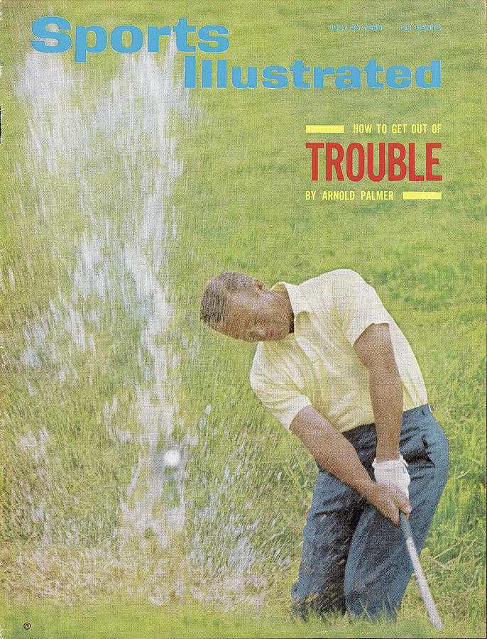 Arnold Palmer, Golf Sports Illustrated Cover Photograph by Sports Illustrated