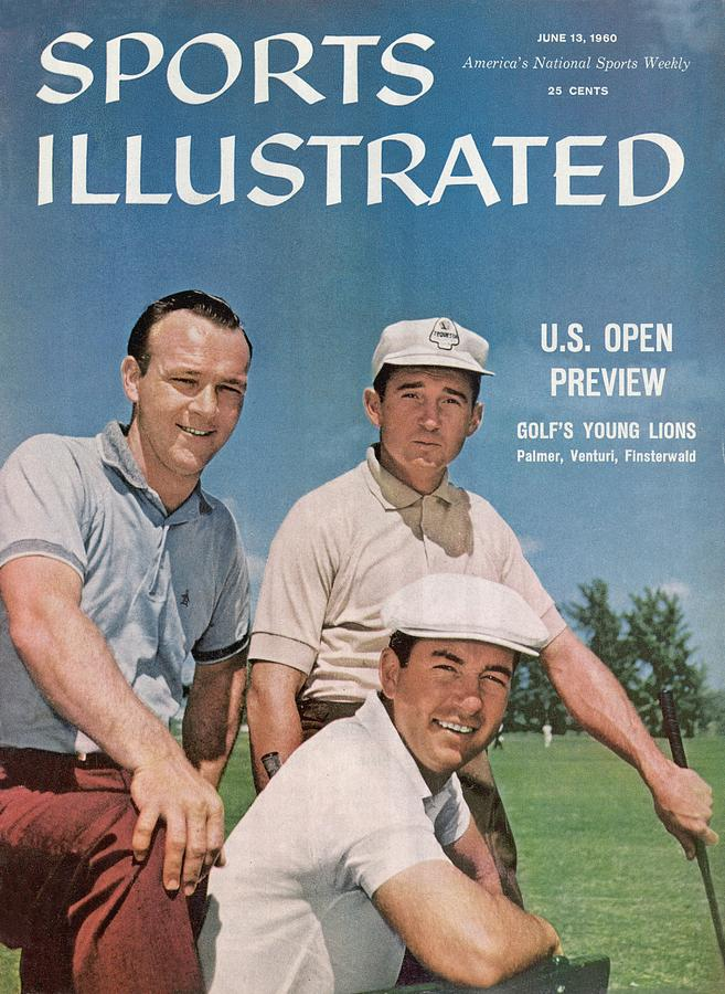 Arnold Palmer, Ken Venturi, And Dow Finsterwald, Golf Sports Illustrated Cover Photograph by Sports Illustrated
