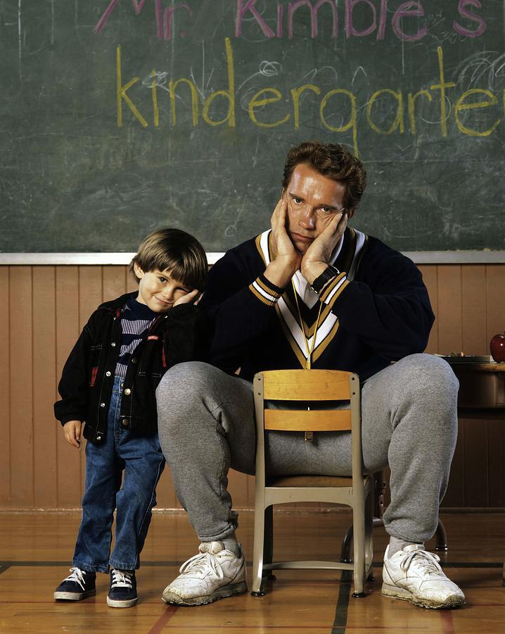 Arnold Schwarzenegger In Kindergarten Cop 1990 Photograph By Album