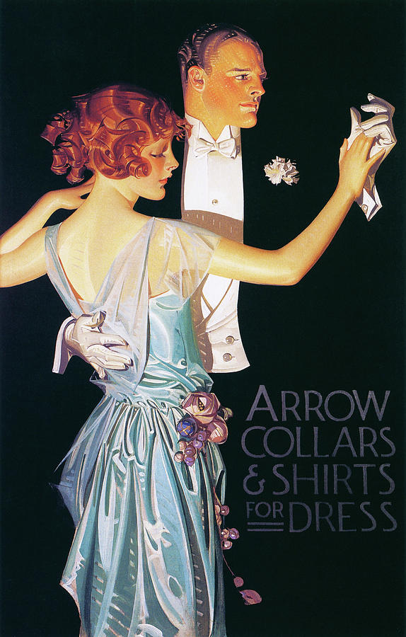 Joseph Christian Leyendecker Painting - Arrow Collars And Shirts For Dress - Digital Remastered Edition by Joseph Christian Leyendecker