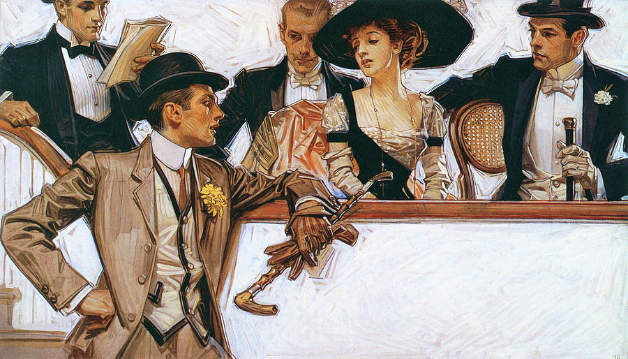 Arrow Collars /& Shirts Vintage Poster Leyendecker Prints, Signs, Canvas, More