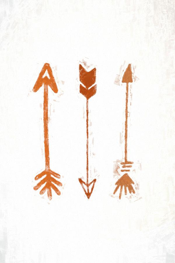 Arrows #painting by Andrea Anderegg