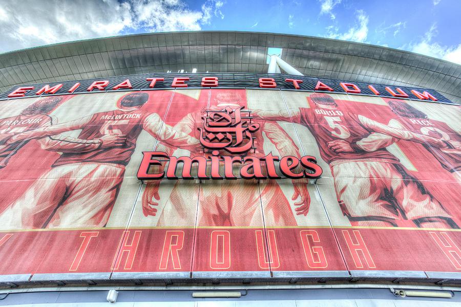 Emirates Photograph - Arsenal Fc Stadium London by David Pyatt