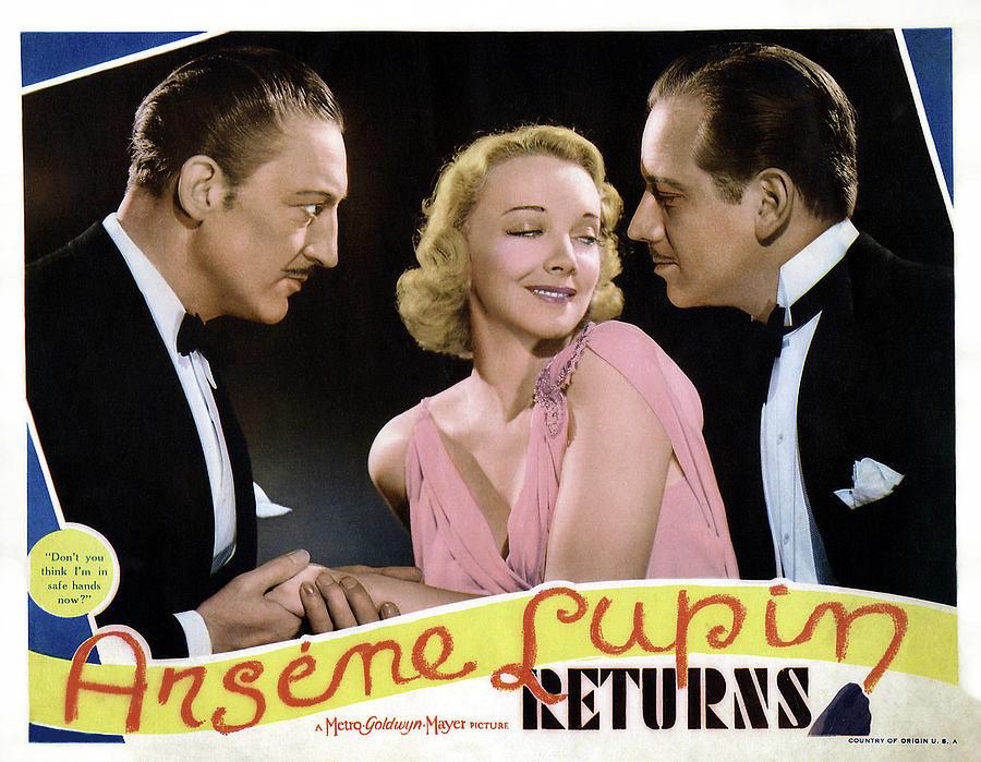 Arsene Lupin Returns by Metro-Goldwyn-Mayer