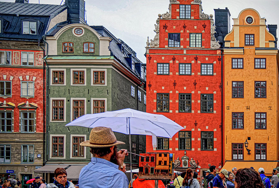 Art and Architecture - Gamla stan - Stockholm by Tony Crehan