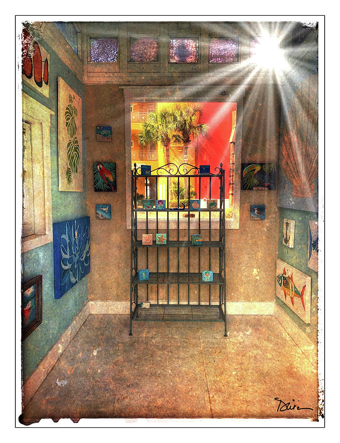 Art Booth Allight by Peggy Dietz