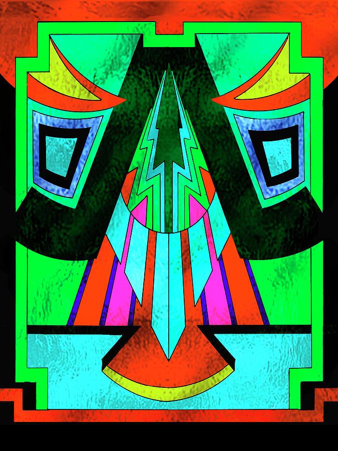 Art Deco Digital Art - Art Deco Design 6 by Art Deco Designs