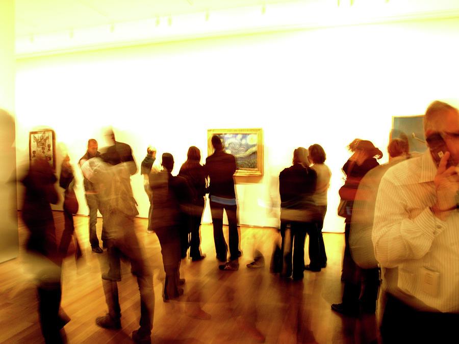 Art Gallery, Van Gogh by Edward Lee