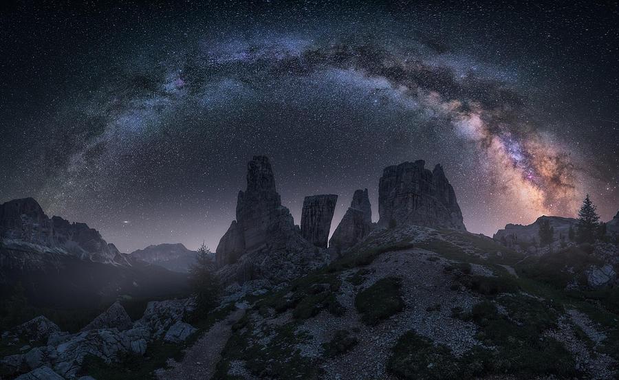 Art Of Night II Photograph by Carlos F. Turienzo