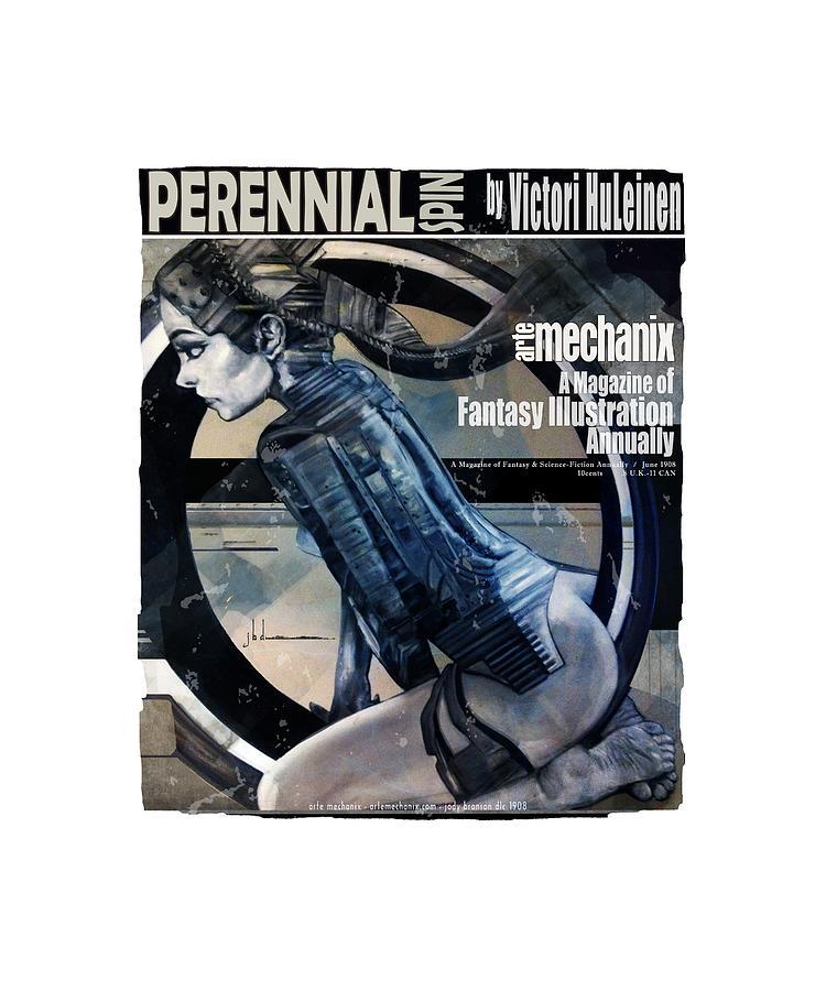 arteMECHANIX 1908 PERENNIAL SPIN GRUNGE by Jody Bronson