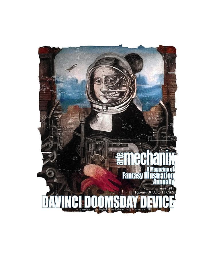 arteMECHANIX 1918 DAVINCI DOOMSDAY DEVICE  GRUNGE by Jody Bronson
