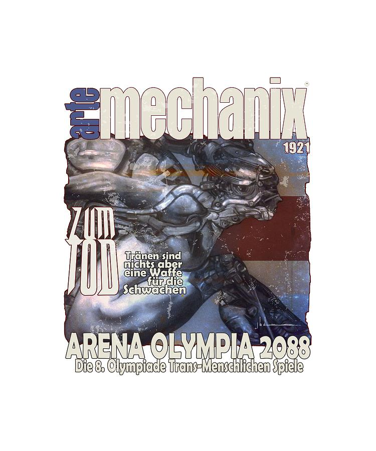 arteMECHANIX 1921 ARENA  GRUNGE by Jody Bronson
