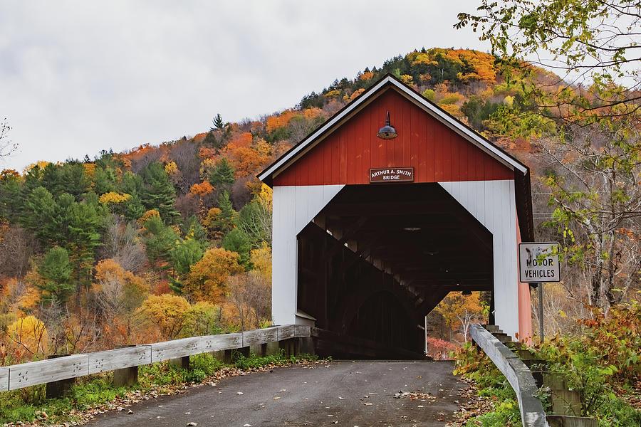 Arthur A. Smith covered bridge by Jeff Folger