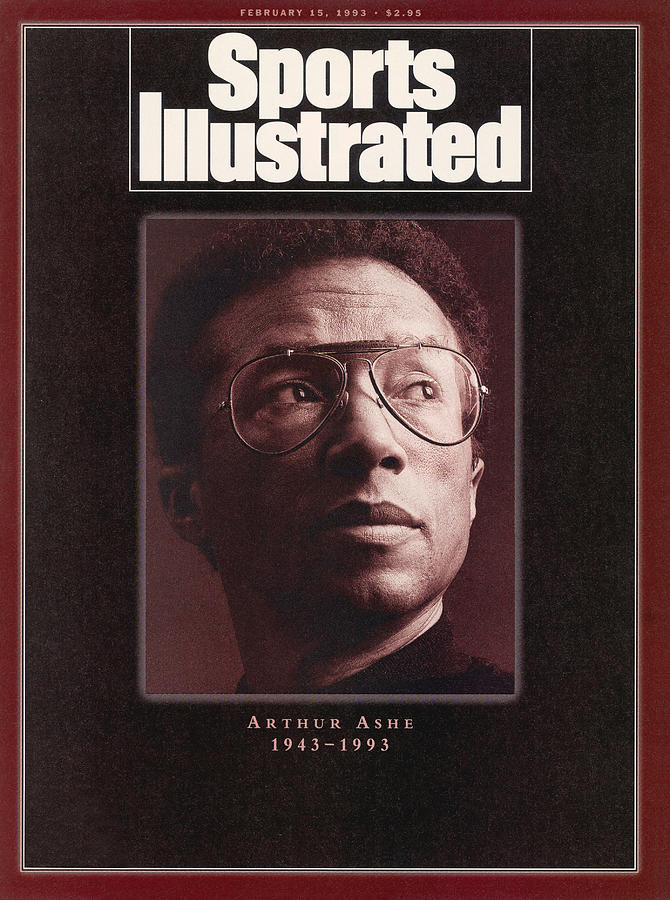 Arthur Ashe 1943-1993 Sports Illustrated Cover Photograph by Sports Illustrated