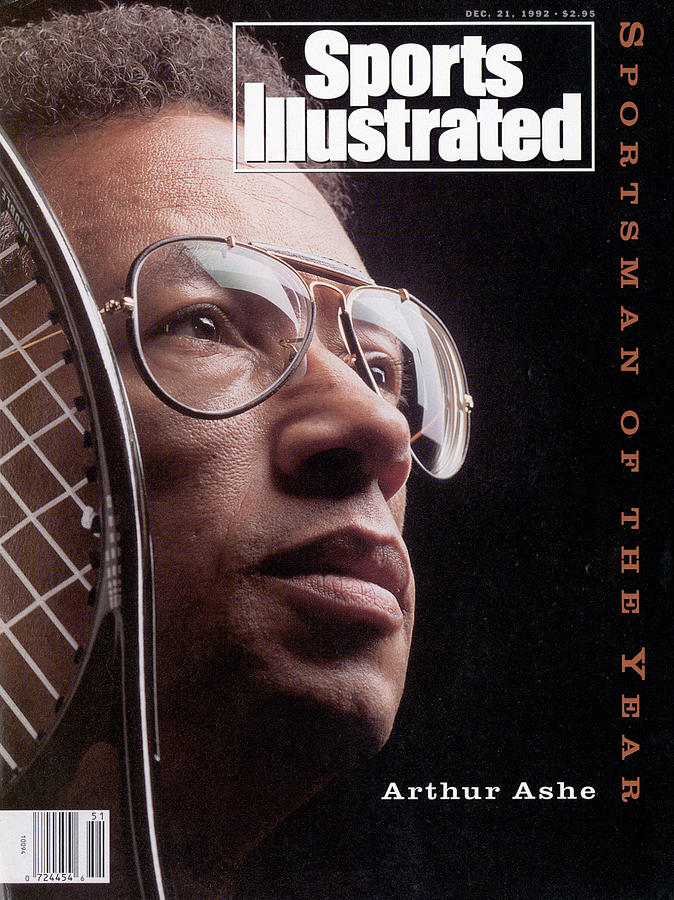 Arthur Ashe, 1992 Sportsman Of The Year Sports Illustrated Cover Photograph by Sports Illustrated