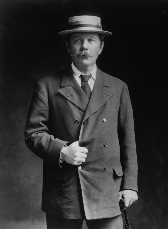 Arthur Conan Doyle Photograph by London Stereoscopic Company