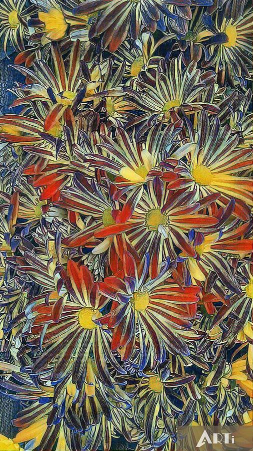 Arti flowers by Steven Wills