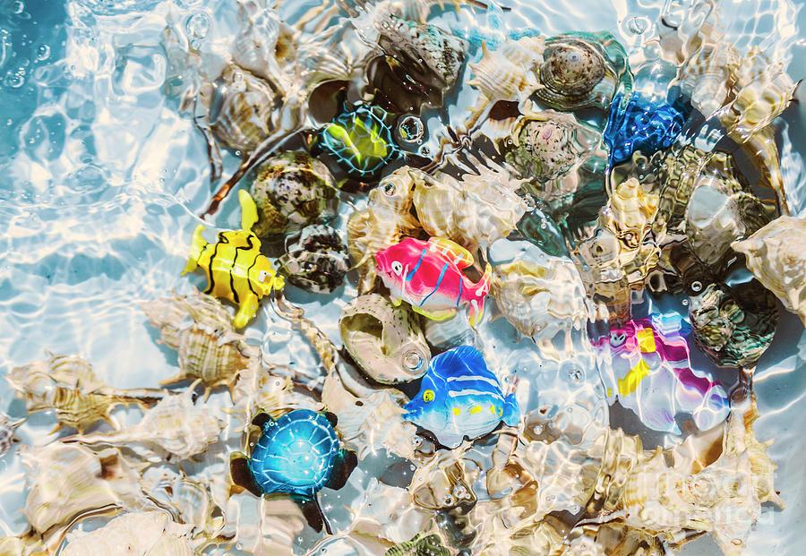 Aquarium Photograph - Artificial Aquarium  by Jorgo Photography - Wall Art Gallery