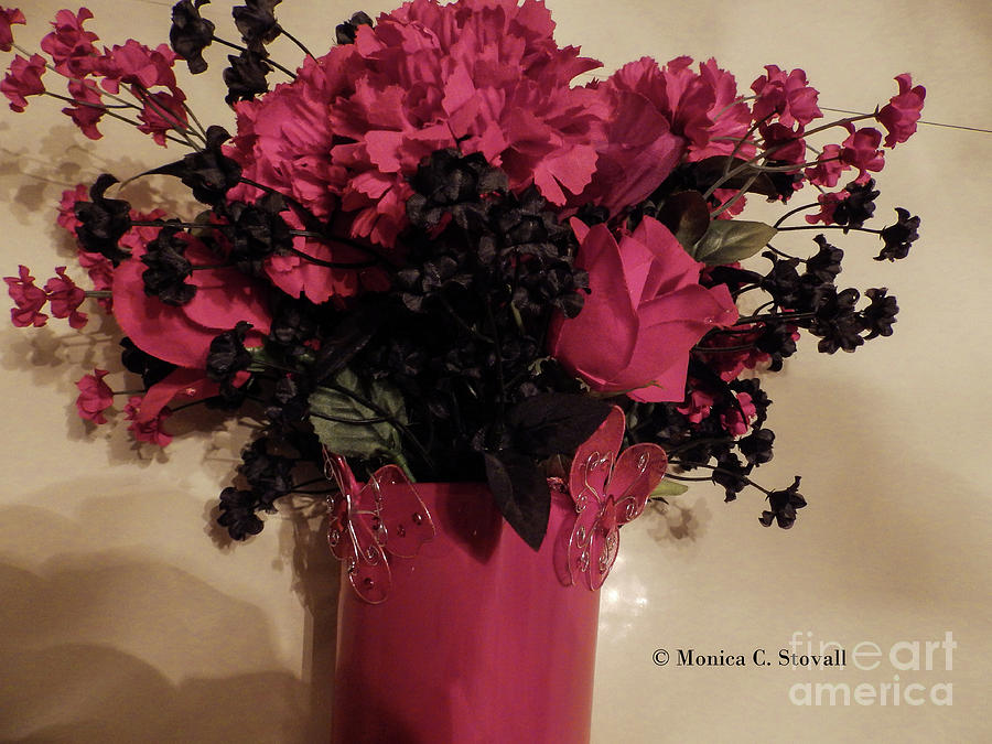 Artificial Flowers No. AF1 by Monica C Stovall
