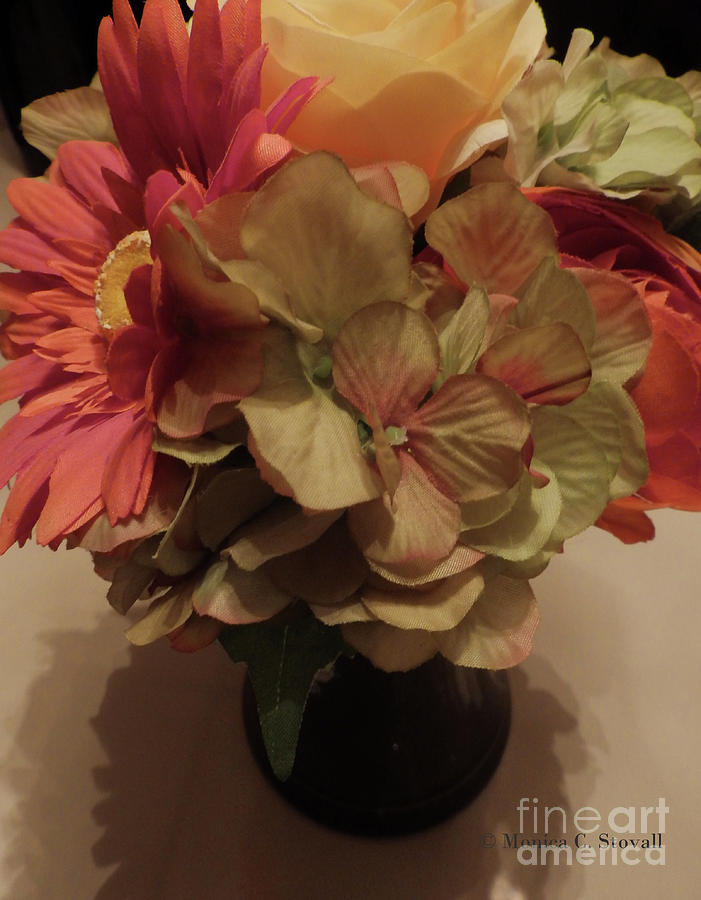 Artificial Flowers No. AF3 by Monica C Stovall