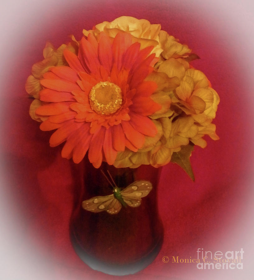 Artificial Flowers No. AF4 by Monica C Stovall