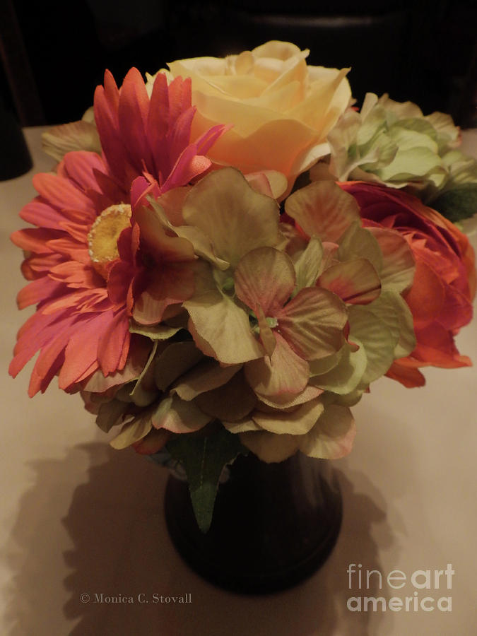 Artificial Flowers No. AF5 by Monica C Stovall