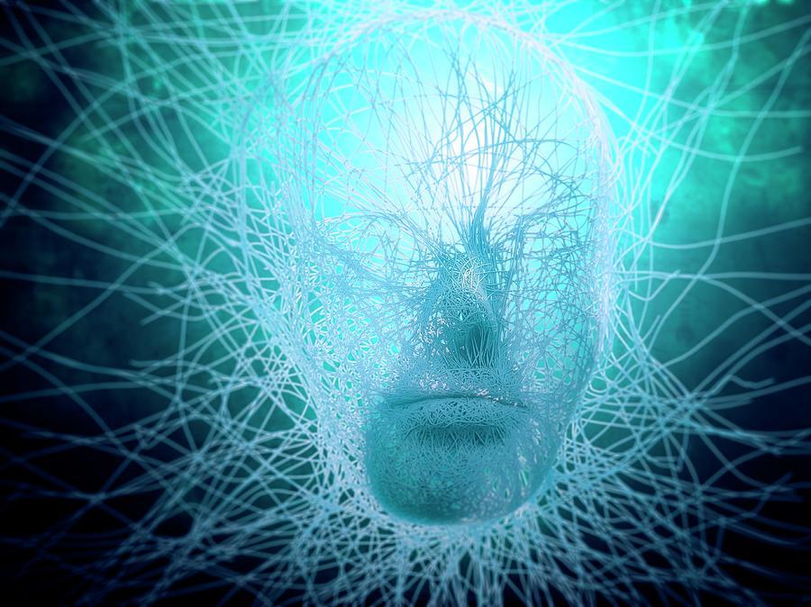 Artificial Intelligence, Conceptual Digital Art by Andrzej Wojcicki