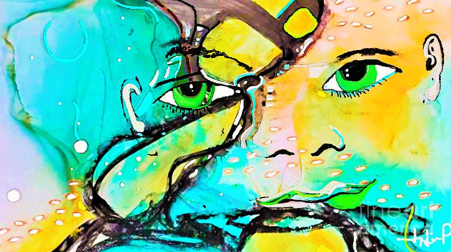 Artis Energy 2 Painting by Jackie Pecoroni