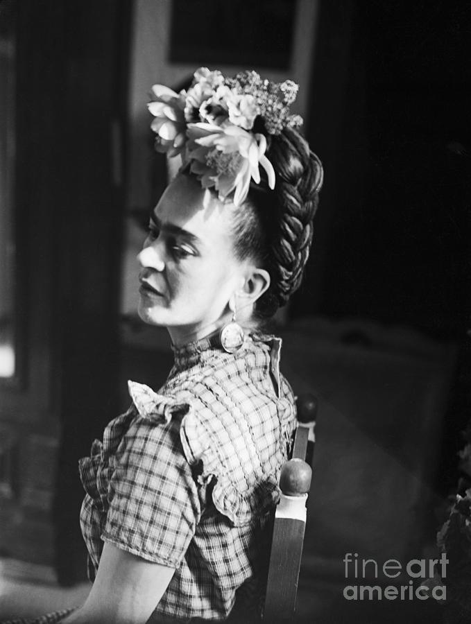 Artist Frida Kahlo Photograph by Bettmann