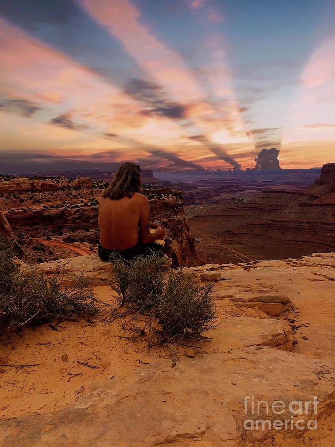 Artist Photograph -  Reflection by Sherry Little Fawn Schuessler