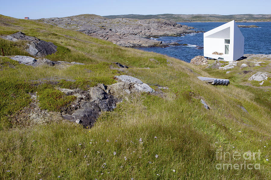Small Photograph - Artist Studio On Remote Fogo Island by Oksana.perkins