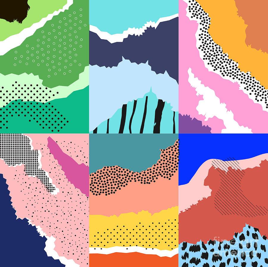 Template Digital Art - Artistic Background.modern Graphic by Lera Efremova