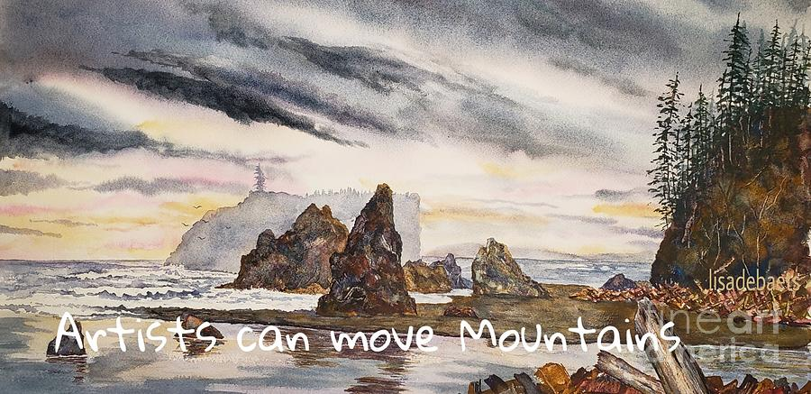 Artists can move Mountains by LISA DEBAETS