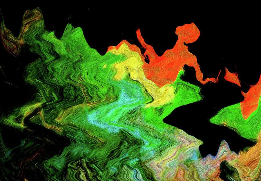 Artists Wave Digital Art by Trina R Sellers