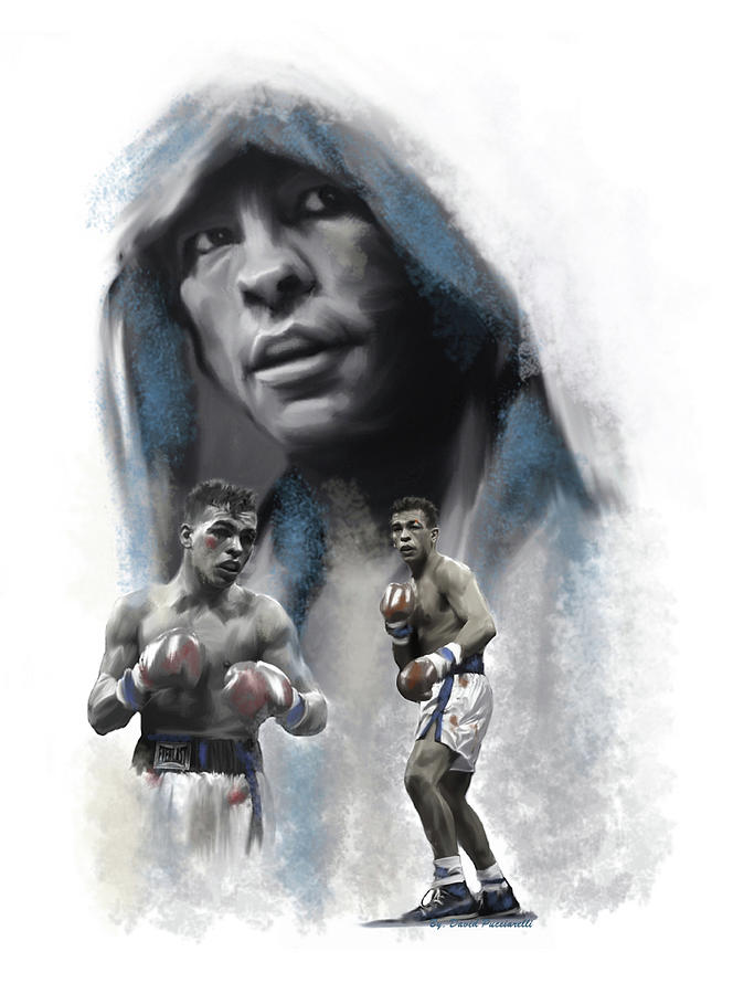 Arturo Gatti SPIRIT WARRIOR  by Iconic Images Art Gallery David Pucciarelli