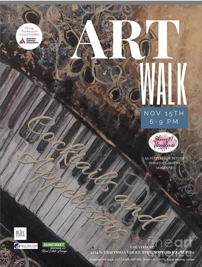 Artwalk Art Show Scottsdale  by Sherry Harradence