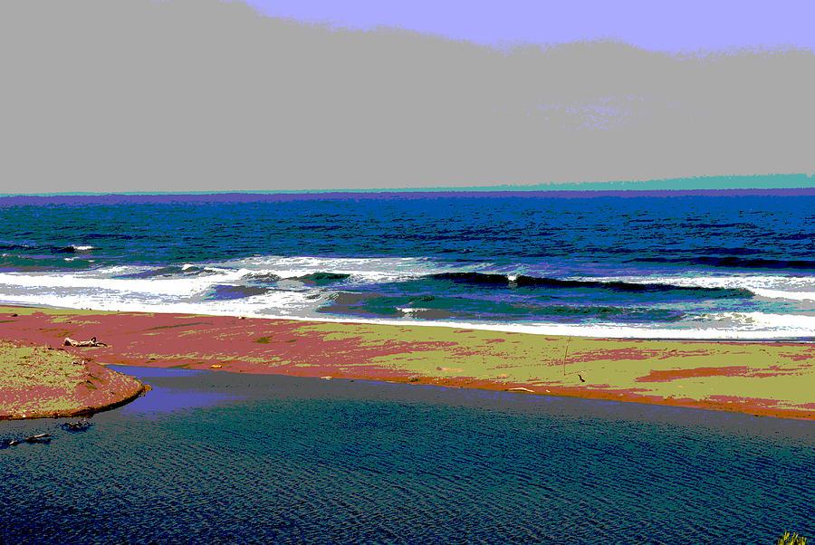 Arty beach shot by Steven Wills