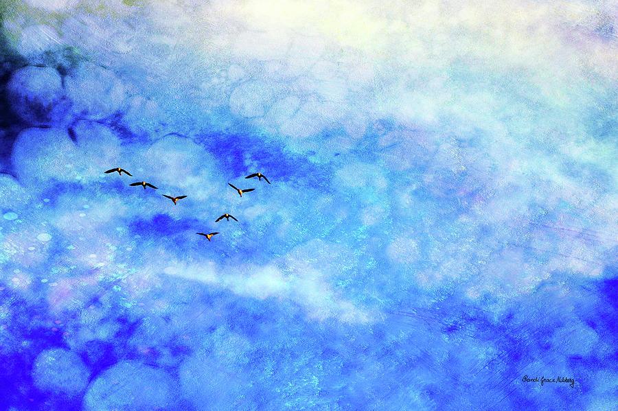 As Winter is Leaving Room for Spring by Randi Grace Nilsberg