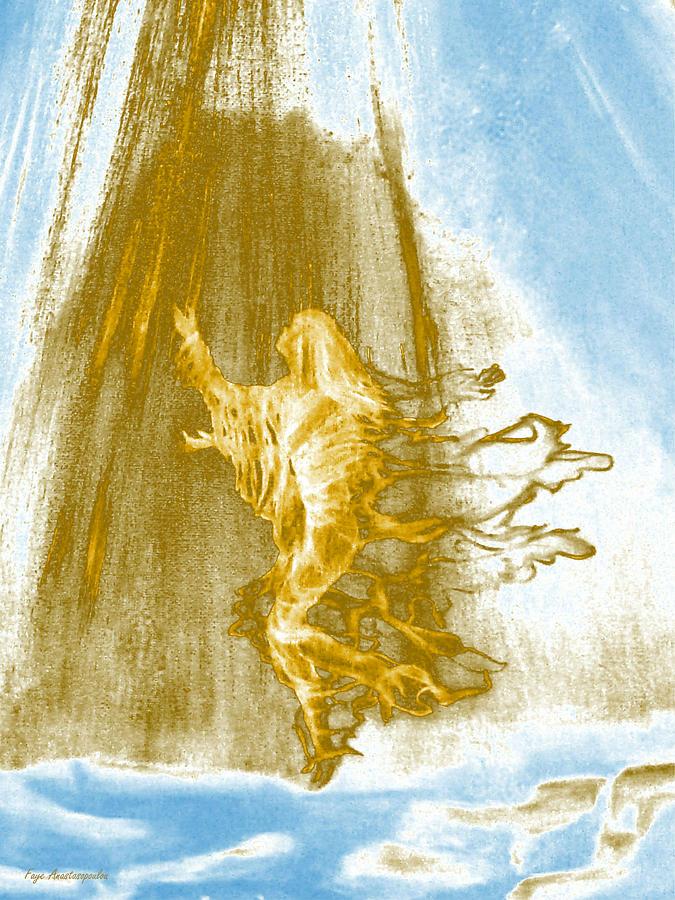 Ascending Angel by Faye Anastasopoulou
