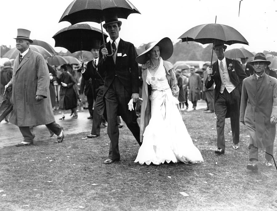 Ascot Fashion Photograph by Central Press