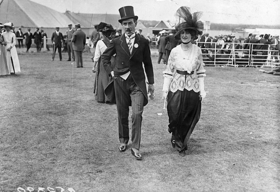 Ascot Fashion Photograph by Hulton Archive