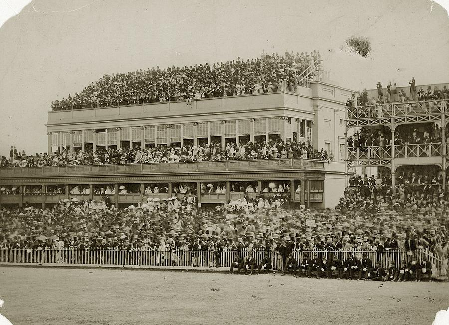 Ascot Grandstand Photograph by Hulton Archive