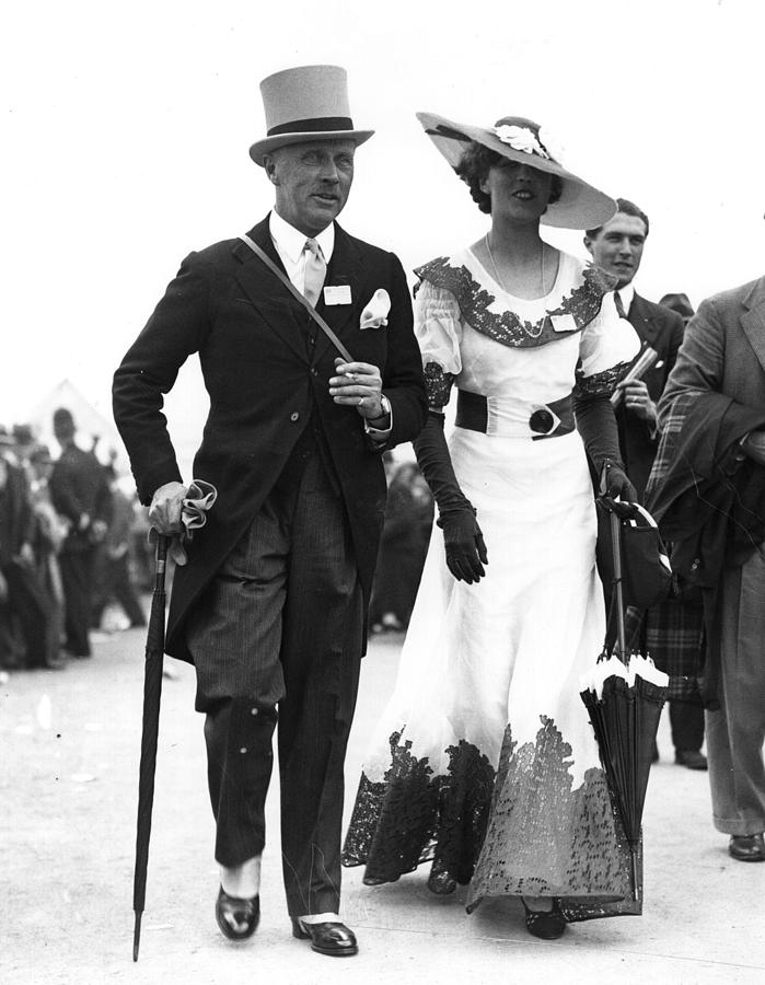 Ascot Style Photograph by Central Press
