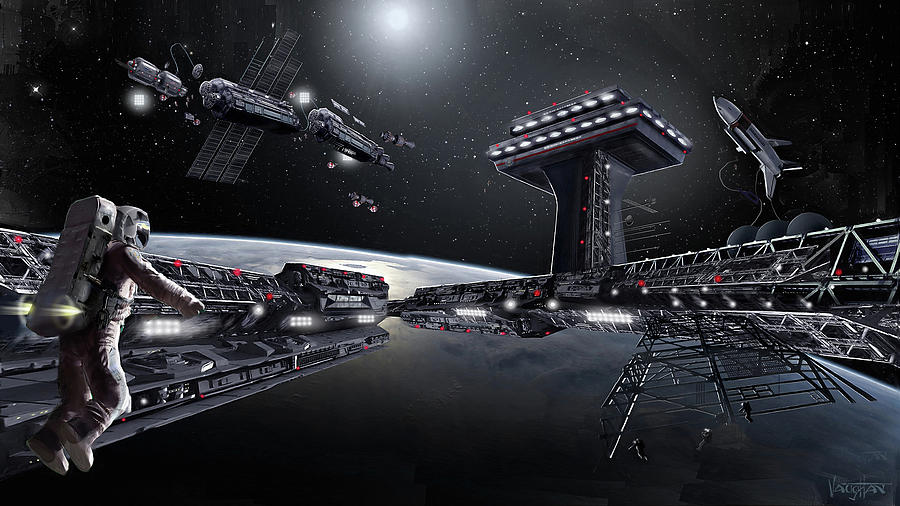 Asgardia - 2068 by James Vaughan