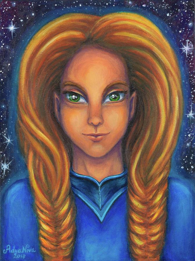 Lyra Painting - Ashana by Adya Nova