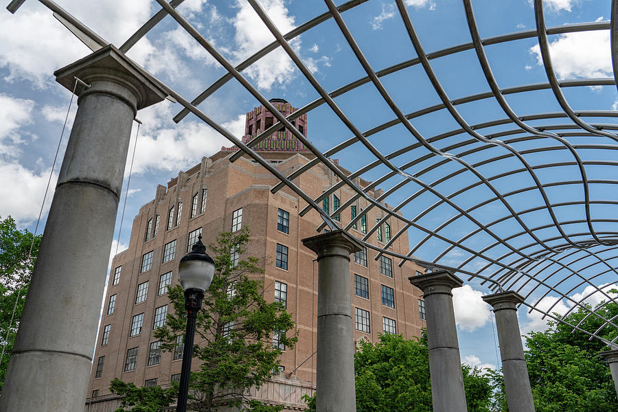 Asheville City Hall 2 by Joye Ardyn Durham